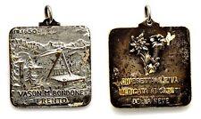 Medaglia Vason Monte Bondone m. 1650 Chiesetta Alpina Dedicata Ai Caduti Della N