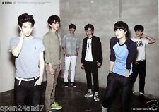 "EXO-K ""MAMA"" THAILAND PROMO POSTER - Korean Boy Group Standing In Corner Of Room"
