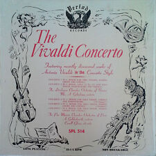 VIVALDI CONCERTO - CAROLL GLENN (VIOLIN) - PERIOD LP - STILL IN SHRINK WRAP