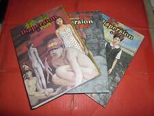 DISPERSION  N° 1/3 collezione completa nuovi: HIDEJI ODA EDIZIONI COCONINO PRESS
