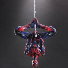 "Marvel Universe VARIANT Play Arts Kai Spider-Man 10"" PVC Statue Action Figure"