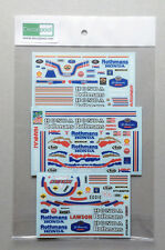 1/12 Honda NSR500 Rothmans 89' W. Gardner / E. Lawson / M Rider Decal for Tamiya