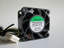 Sunon PMD1204PQBX-PWM 40mm x 28mm 4pin Extreme Hi-speed 12VDC Fan=Server/Case