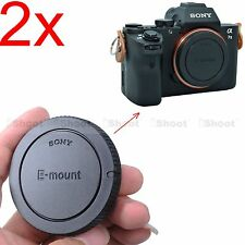 2x Finely-made Body Cover Cap for Sony NEX-F3 NEX-3N E-mount Micro SLR Camera