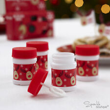 ROCKING RUDOLPH Christmas Bubbles - Fun Xmas Party Favours - FULL RANGE IN SHOP!