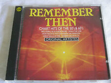 CD Remember Then - Chart Hits Of The 50s & 60s
