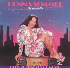 DonnA SummeR CD On the Radio: Greatest Hits, Vols 1-2 Disco Oldies Extended Cuts