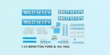 Mild Seven Benetton B194 1:43 Decal set