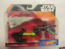 HOT WHEELS STAR WARS BLAST ATTACK STAR DESTROYER NEW ON CARD