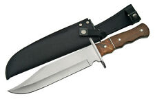 "AWESOME ALAMO 14"" ORIGINAL BOWIE FIXED BLADE TACTICAL SURVIVAL KNIFE & SHEATH"