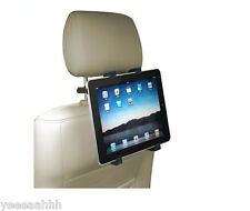 Tablet Car Holder Adjustable Headrest Mount Bracket iPad 2 3 4 Galaxy