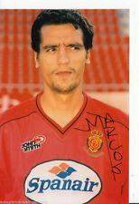 Marcos real mallorca top foto ORIG. sign. +a45509