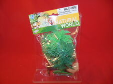Tropical Palm Trees And Rocks Plastic Diorama Set 76733 New In Package!