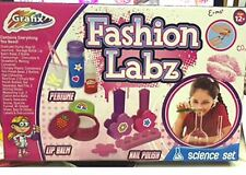 3 In 1 Kids Make Your Own Perfume Lip Balm Nail Polish Science Lab Toy Xmas