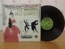 The Modern Jazz Quartet,Fontessa,Atlantic SD 1231,1st Stereo Press,VG+,Vinyl LP