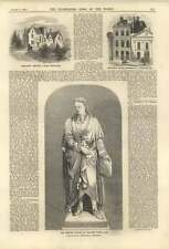 1858 Newton Statue William Theed Ingoldsby Rectory Orange St Leicester Square