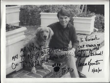 Dean Koontz & Trixie Dual Signed 8x10 Photo Personalized Auto
