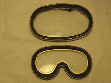 2 x vintage tempered glass lens parts repair Nemrod & Dacor scuba diver diving
