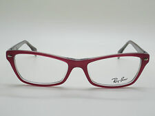 NEW Authentic Ray Ban RB 5256 5189 Pink/Grey 52mm RX Eyeglasses