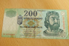 *Ungarn 200 Forint  Banknote 1998 *(ORD2)