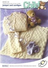 Double Knitting Aran Pattern Jumper Cardigan Wool Baby Items 61-76 cm 24-30 in.