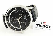 Tissot T0636371605700 Men's Watch Tradition Perpetual Calendar Black Dial