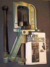 RCBS Rock Chucker Supreme Press-(09356) NEW-no box