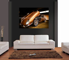 CLASSIC JAGUAR E-TYPE CAR Giant Wall Art Print Picture Poster
