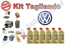 REPLACEMENT KIT VOLKSWAGEN TIGUAN 2.0 140CV FROM 07   OIL CASTROL 5W30 + FILTERS