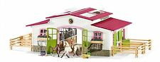 SCHLEICH Horse Club Stable Riding Centre 42344 + Rider, Horses & Accessories