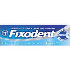 Fixodent Free Original Cream 1.4oz