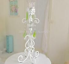 French Provincial Candle Holder White Candelabra Decoration Wedding Christmas