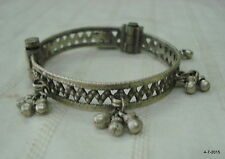 vintage antique tribal jewelry old silver bracelet bangle cuff india