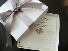 Personalised Husband/wife To Be Keepsake Card With Box