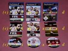 3x PS2 _ FIFA 07 & FIFA 08 & PES 2009 _ Erstausgaben guter Zustand