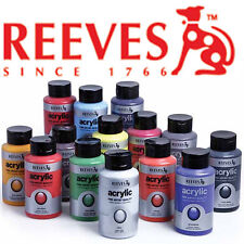 Reeves Artist Acrylic Paint 400ml 31 Colours to Choose From