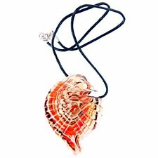 Handmade Glass Shell Pendant Necklace Custume Jewellery with Gift Box