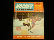 March 1970 Hockey Pictorial Magazine - Bobby Orr Bruins Cover