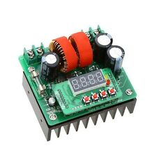 DC 400W 10A 8-80V CC CV Boost Converter Step-Up Module Power Supply LED Display