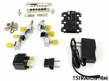 Gibson Les Paul Less + Tune-O-Matic BRIDGE & G Force Robot TUNERS Hardware Set
