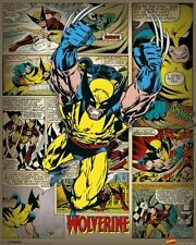 WOLVERINE ~ PANELS 16x20 COMIC ART POSTER Marvel X-Men Xmen Claws NEW/ROLLED!