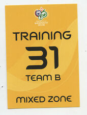 Orig.Ticket   WM Deutschland 2006   SPANIEN - TUNESIEN / Training B + Mixed Zone