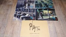 jacques tati  PLAY TIME films de mon oncle !  jeu photos cinema lobby card