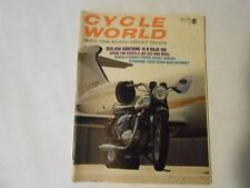 MAY 1970 CYCLE WORLD MAGAZINE,BSA 650 LIGHTNING COVER,HARLEY BAJA 100,ASTRODOME