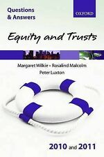 Q&A Equity and Trusts 2010 and 2011 (Law Questions & Answers), Luxton, P