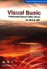 Visual Basic Professional Source Code Library for VB 6 & .NET  Brand New Sealed