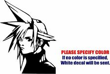 Vinyl Decal Sticker - Cloud Final Fantasy #03 Car Truck Bumper Window JDM Fun 7""