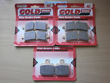 APRILIA RSV4-R APRC RSV4R   FULL SET SINTERED FRONT REAR BRAKE PADS *GOLDFREN*