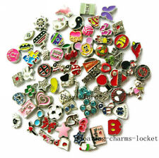 10pcs lot Mixed Floating Charms For Glass Memory Locket free shipping