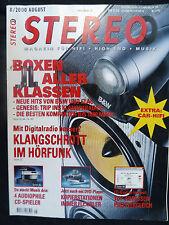 STEREO 8/00 B&W CDM COM 7 NT,ELAC DOLCE VITA,ACCUPHASE DP 100,GENESIS 350 SE
